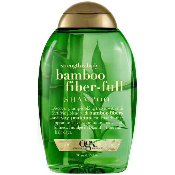 OGX Strength & Body + Bamboo Fiber-Full Shampoo - 13oz