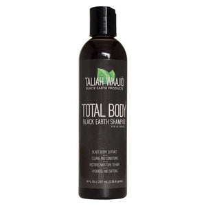 Taliah Waajid Total Body Black Earth Shampoo Hair & Body (8 oz)