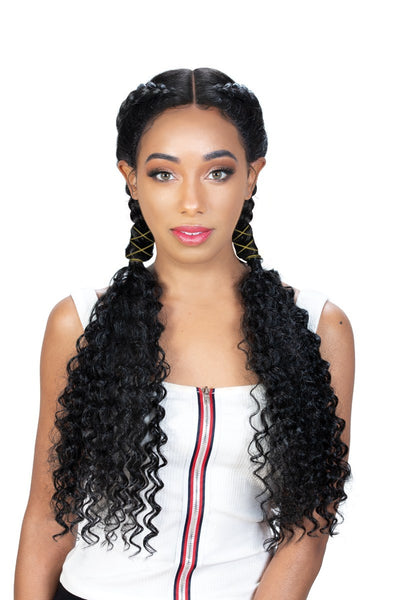 Zury Sis Double Dutch Box Braid 360 Lace Front Wig - Rimi