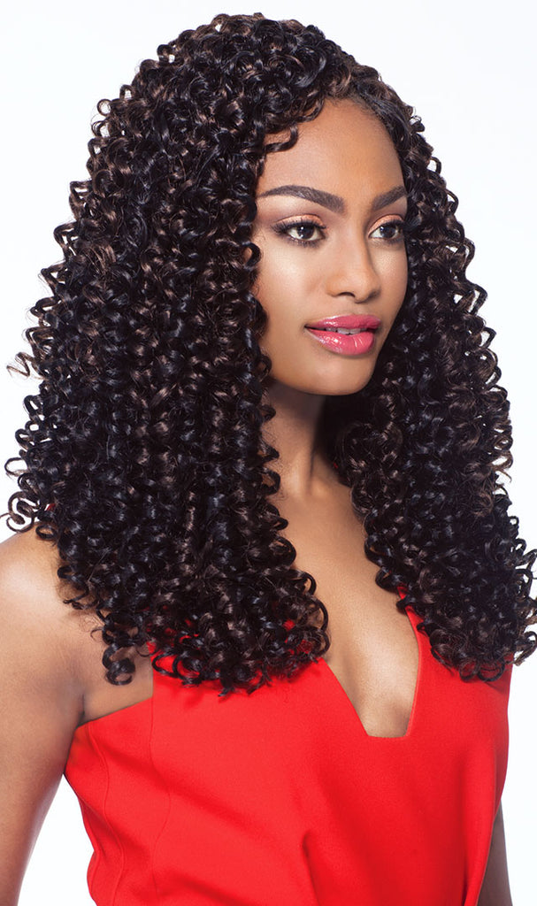 Outre X-Pression Crochet 4 In 1 Loop - Bohemian Curl 14 Inches