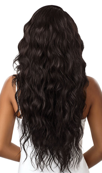 Outre &Play Human Hair Blend 360 Lace Front Wig - Natural Loose Wave - Beauty Empire