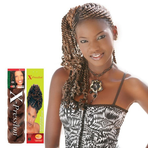 Sensationnel African Collection 3X Pre-Stretched Braiding Hair - Ruwa 48 Inches