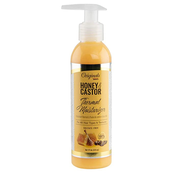 Africa's Best Originals Honey & Castor Thermal Moisturizer - 6oz