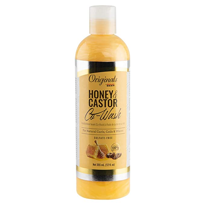 Africa's Best Originals Honey & Castor Co-Wash - 12oz