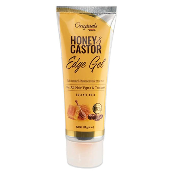 Africa's Best Originals Honey & Castor Edge Gel - 4oz