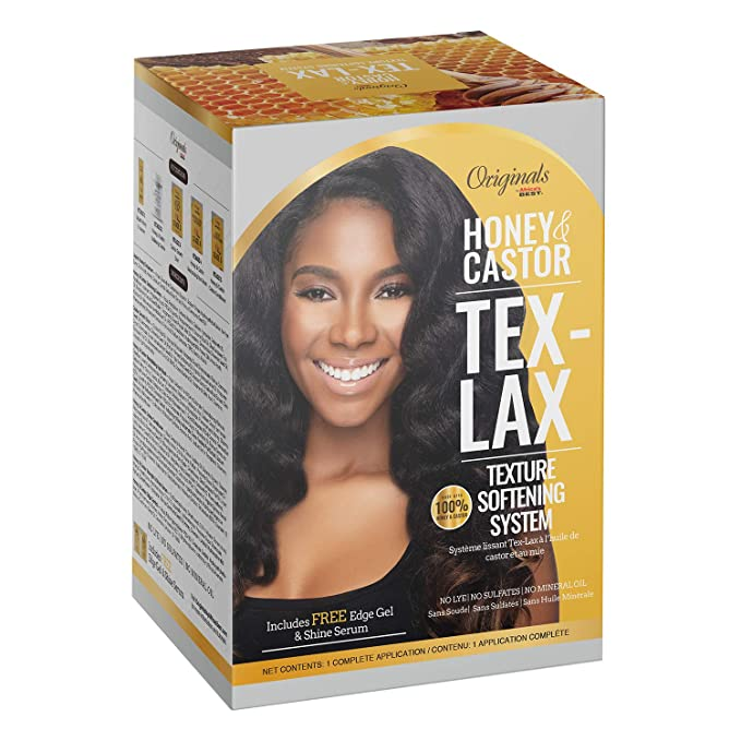 Africa's Best Originals Honey & Castor Tex-Lax Texture Softening System