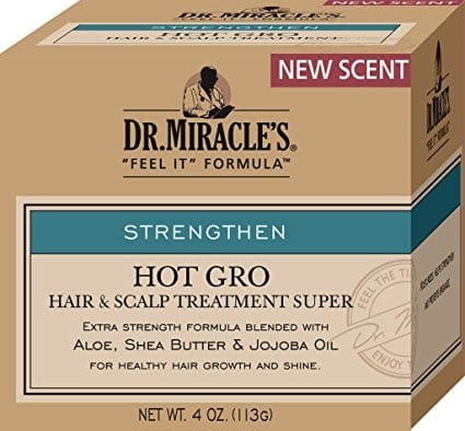 Dr. Miracles Hot Gro Hair & Scalp Treatment Super (4 Oz) - Beauty Empire