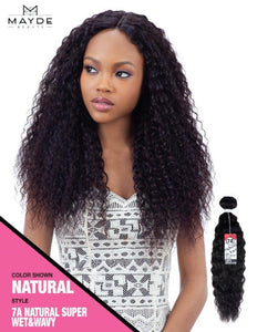 Mayde Beauty 7A Super Wet & Wavy 100% Human Hair