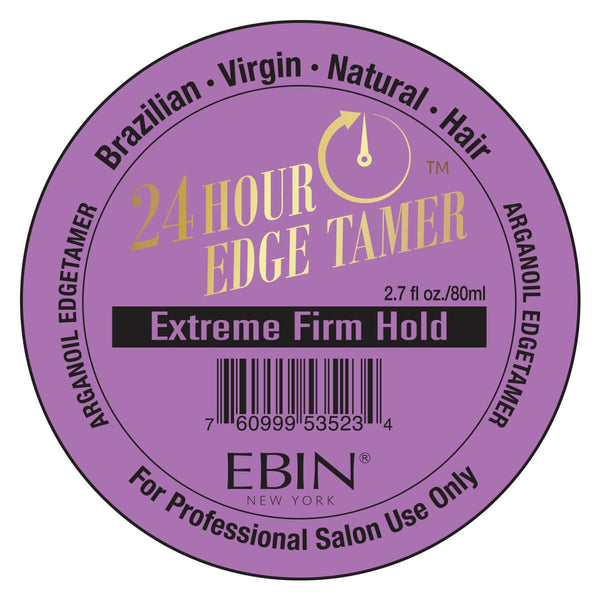 EBIN New York Argan Oil Edge Tamer Extreme Firm Hold (Edge Control) 2.7 Ounce - Beauty Empire