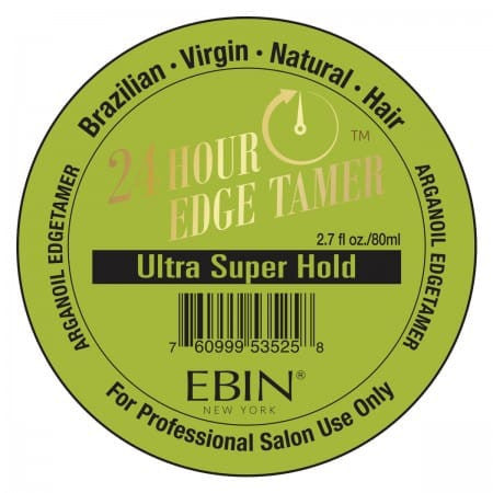 EBIN New York Argan Oil Edge Tamer Super Hold (Edge Control) 2.7 Ounce