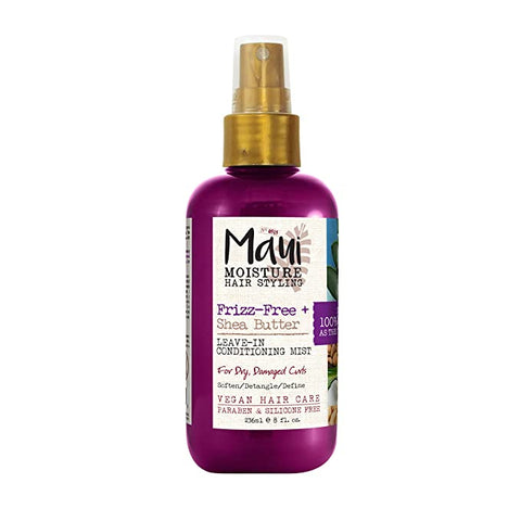 Maui Moisture Frizz-Free + Shea Butter Leave-In Conditioning Mist - 8oz