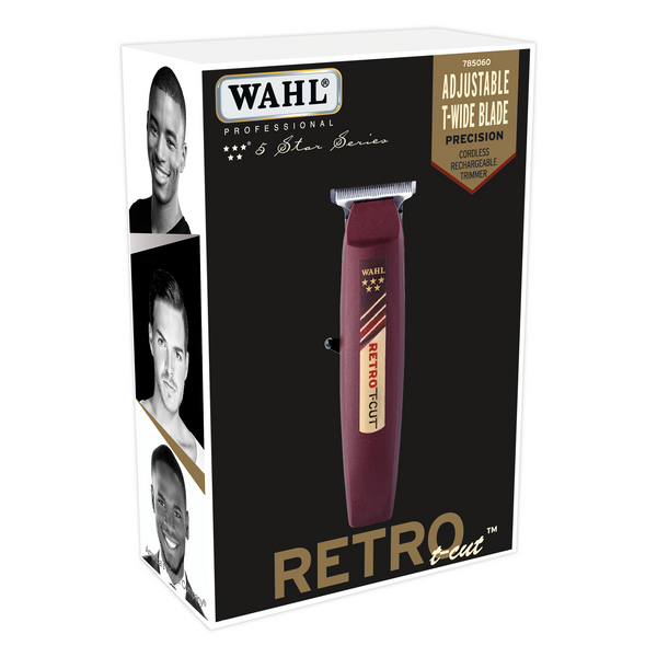 Wahl Professional 5 Star Retro T-Cut Trimmer - Beauty Empire