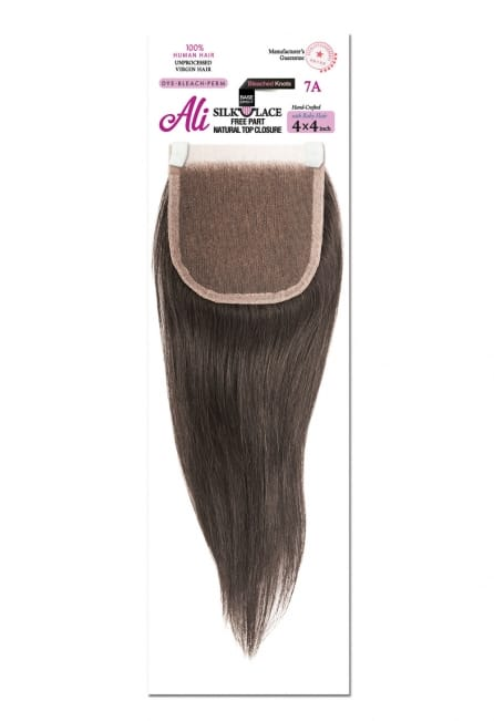 Ali Silk Lace 4x4 Free Part Closure - Straight - Beauty Empire