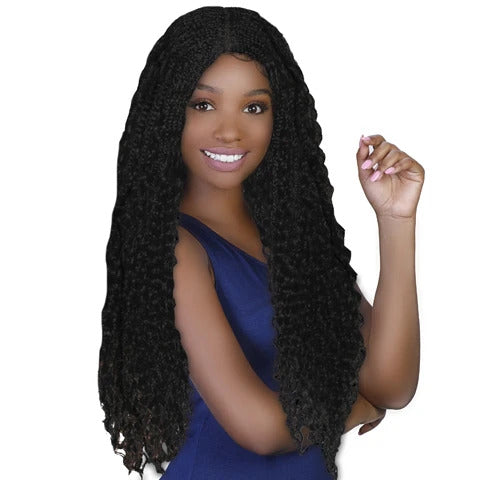 Diana Natural Hairline Premium Synthetic Lace Front - LW Boho