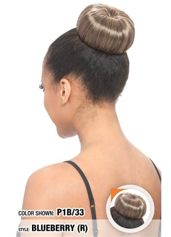 Model Model Glance Bun - Blueberry (R) - Beauty Empire
