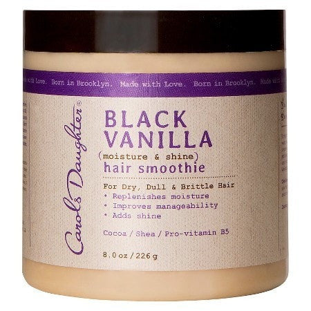 Black Vanilla Moisture & Shine Hair Smoothie (8 oz) - Beauty Empire