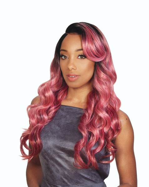 Zury Sis Beyond 5 Inch Arch Part Synthetic Lace Front Wig - Soto