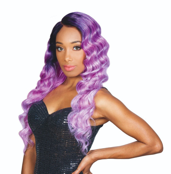 Zury Sis Beyond 5 Inch Arch Part Synthetic Lace Front Wig - Spice
