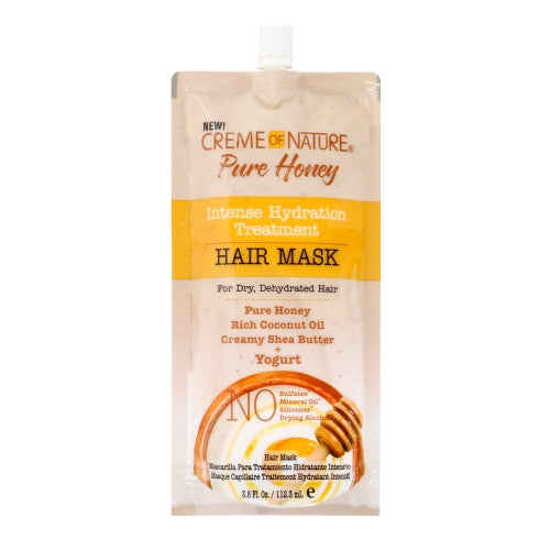 Creme Of Nature Pure Honey Intense Hydration Treatment Hair Mask - Yogurt 3.8oz