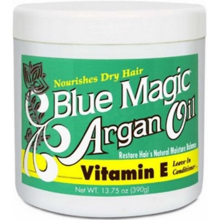 Blue Magic Argan Oil with Vitamin E Leave-In Conditioner (13.75 Oz) - Beauty Empire