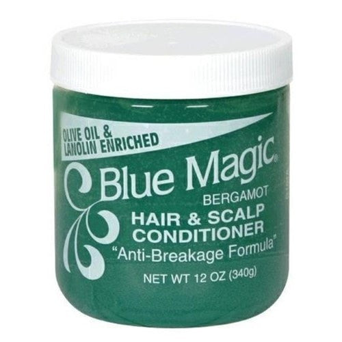 Blue Magic Bergamot Hair & Scalp Conditioner (12 Oz) - Beauty Empire