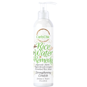 CurlyChic Rice Water Remedy Strengthening Condish - 8oz