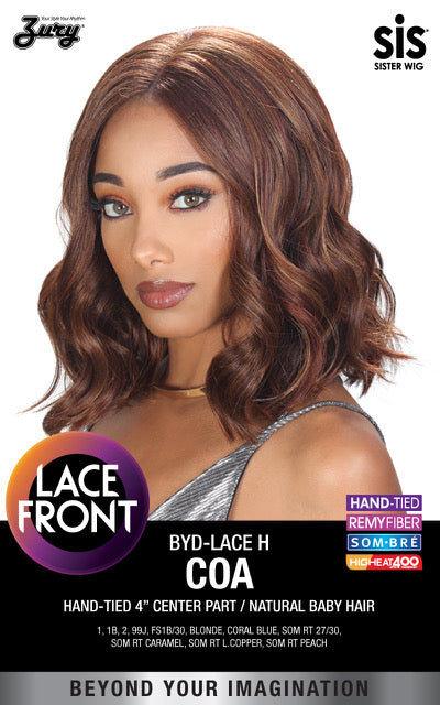 Zury Sis Beyond Synthetic Lace Front Wig - Coa