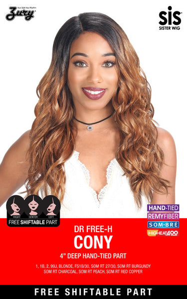 Zury Sis The Dream Free Shift 4 Inch Deep Part Wig - DR Free-H Cony