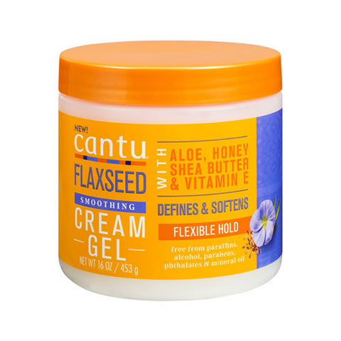 Cantu Flaxseed Smoothing Cream Gel - 16oz