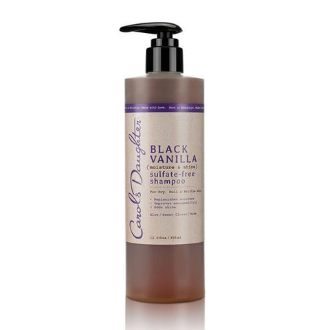 Carols Daughter Black Vanilla Moisture & Shine Sulfate Free Shampoo (12 oz) - Beauty Empire