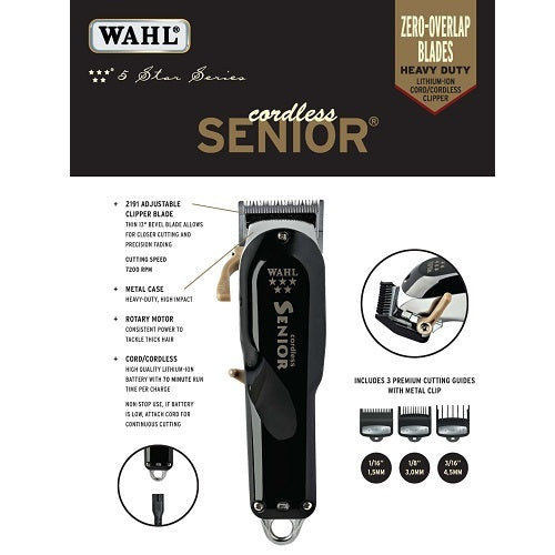 Wahl Professional 5 Star Cordless Senior - Beauty Empire