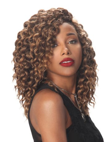Zury Sis Naturali Star V-Shaped Finish Lace Front Wig - Nat-V Deep Twist