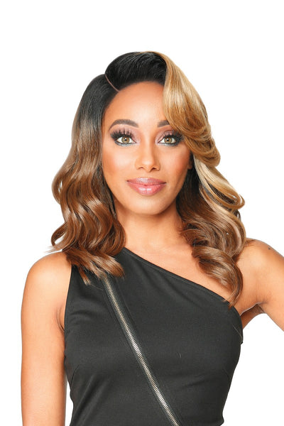 Zury Sis Diva Collection HD Synthetic Lace Front Wig - Earthy