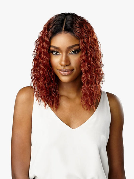 Sensationnel Dashly Synthetic Lace Front Wig - Unit 17