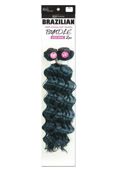 Premium Remi Touch Brazilian Bundle 2 Piece - Deep Wave - Beauty Empire