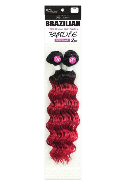 Premium Remi Touch Brazilian Bundle 2 Piece - Deep Wave