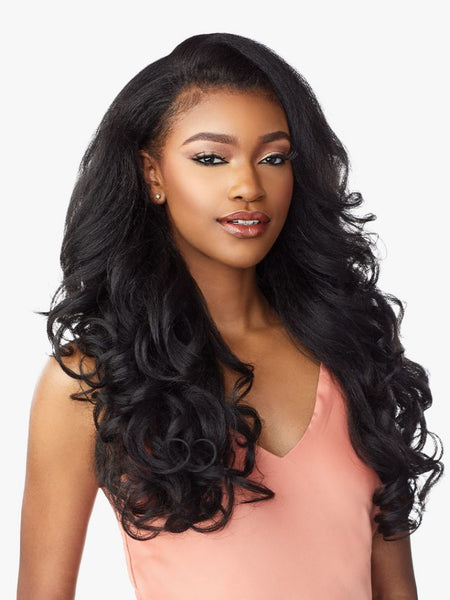 Sensationnel Instant Weave Drawstring Cap Synthetic Half Wig - IWD 4