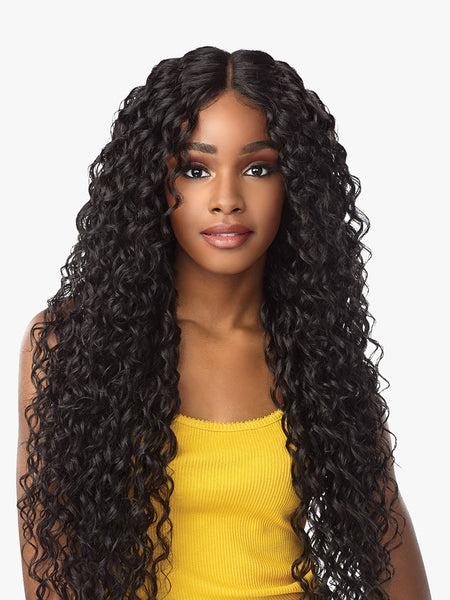 Sensationnel Empress Natural Center Part Lace Front Edge Wig - Nayana - Beauty Empire