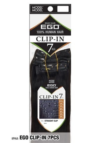 Model Model Ego Straight Clip-In 7 pieces