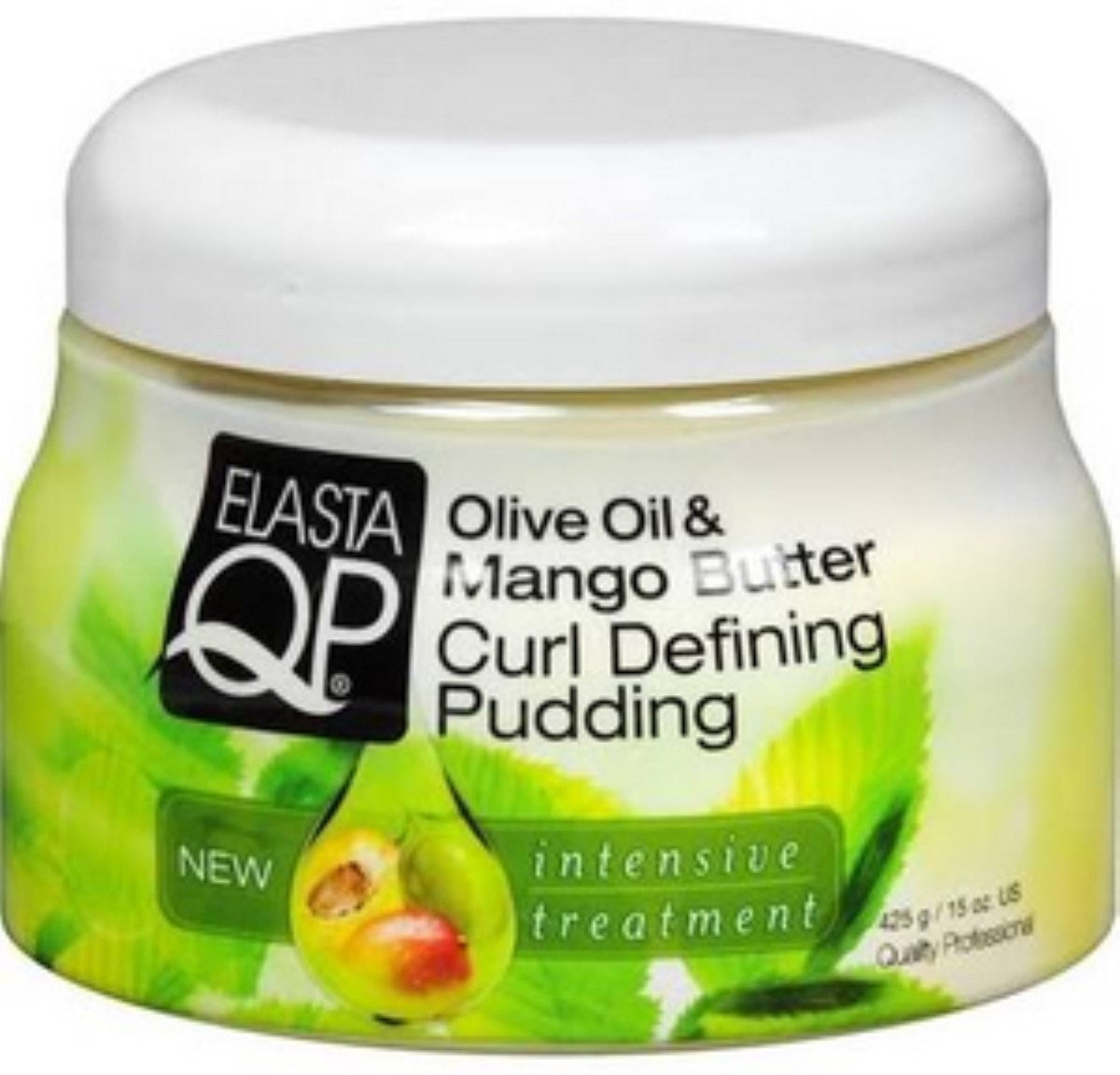 Elasta QP Olive Oil & Mango Butter Curl Defining Pudding (15 Oz) - Beauty Empire