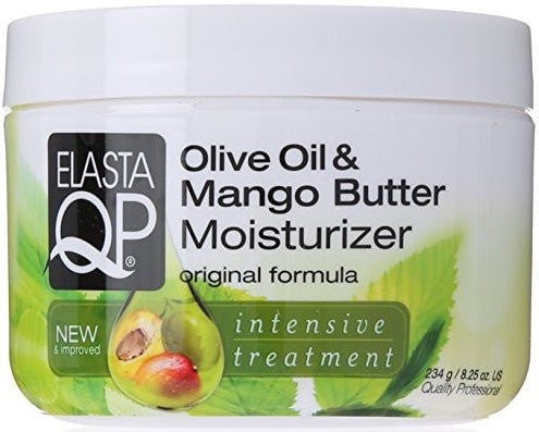 Elasta QP Olive Oil & Mango Butter Moisturizer (6 Oz) - Beauty Empire