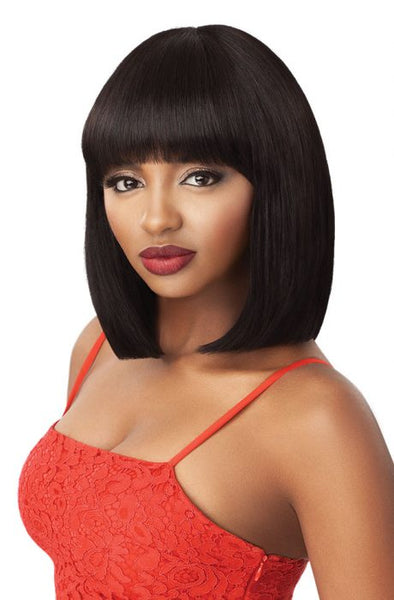 Outre Fab & Fly 100% Unprocessed Human Hair Wig - Misty - Beauty Empire