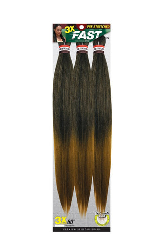 Zury 3X Pre-Stretched Fast Hollywood Braid - 30 Inches