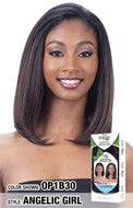 Freetress Equal Drawstring Full Cap Half Wig - Angelic Girl - Beauty Empire