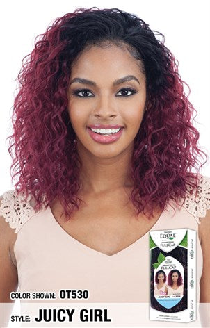 Freetress Equal Drawstring Full Cap Half Wig - Juicy Girl - Beauty Empire