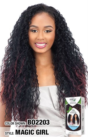 Freetress Equal Drawstring Full Cap Half Wig - Magic Girl - Beauty Empire