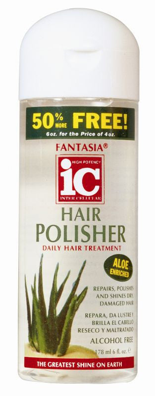 Fantasia IC Hair Polisher Daily Hair Treatment (6 Oz) - Beauty Empire