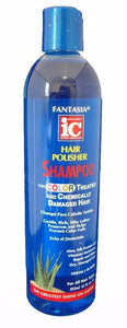 Fantasia Hair Polisher Shampoo for Color Treated & Chemically Damaged Hair (12 Oz) - Beauty Empire