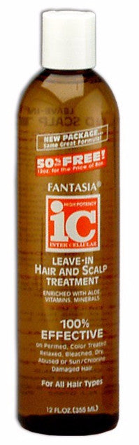 Fantasia IC Leave-In Hair and Scalp Treatment (12 Oz) - Beauty Empire