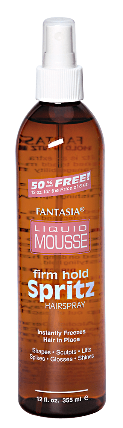 Fantasia Liquid Mousse Firm Hold Spritz Hairspray (12 Oz) - Beauty Empire